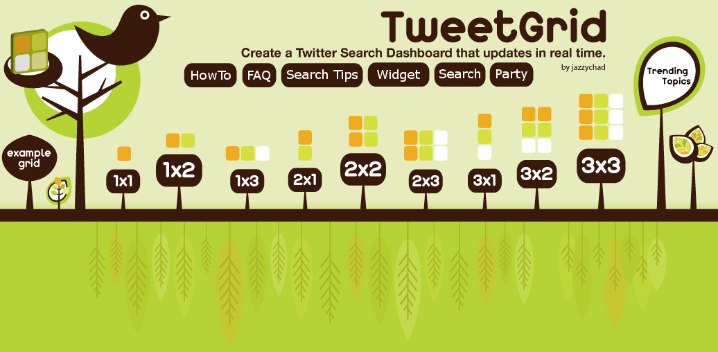 TweetGrid - by jazzychad